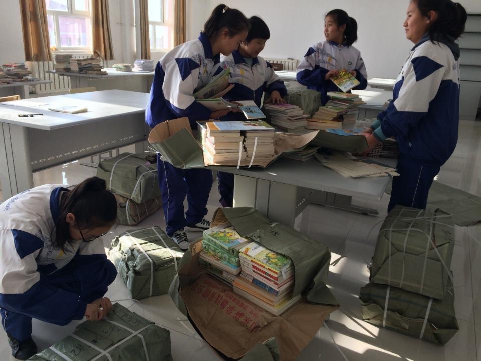 八哥书屋落地新疆改善农牧民子女教育